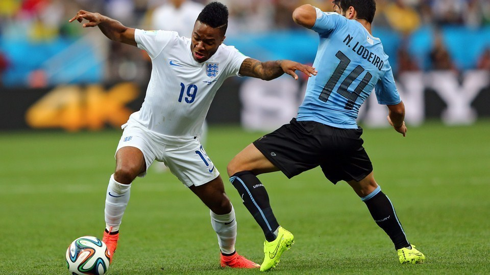England – Uruguay Group Stage match in Group D.