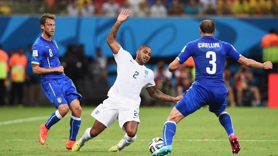 England – Italy Group Stage match in Group D.