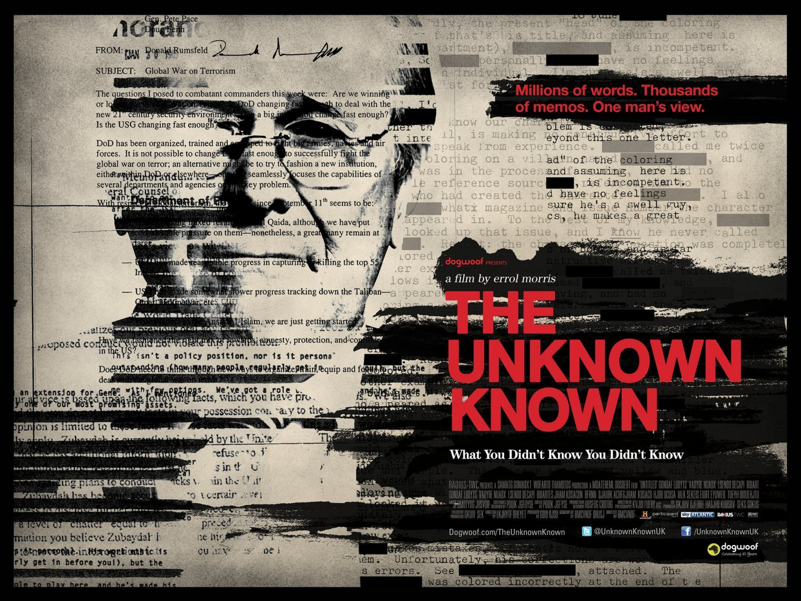 Poster design documentary - We Kick Off This Episode With A Richly Textured Alternate Design For The Unknown Known Don T Bother Looking Up The Main Theatrical Poster