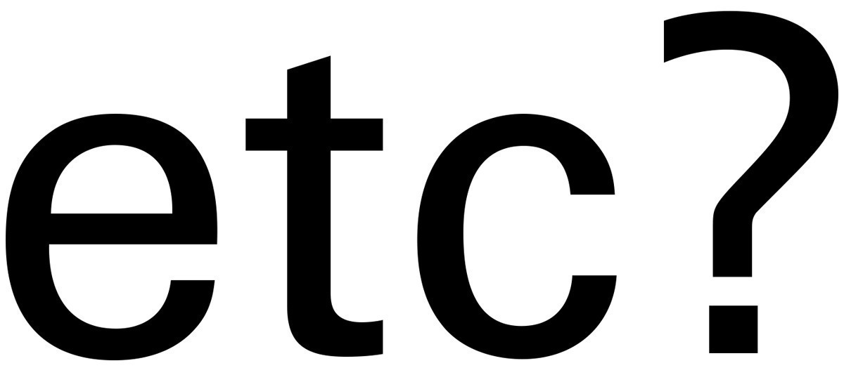 "While Frutiger admitted, designing horizontal endings for all letters throughout the whole family was a ""matter of consistency"" to him, the exceptions in the lowercase 't' and in '?' in the expanded and normal weights prove the rule."