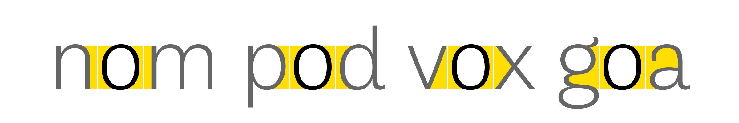 For any space next to a character, only half of it is defined by the character itself and the other half belongs to the preceding or the following character. As you can see in this example showing a number of possibilities for the 'o', this creates whites of wildly varying shapes (here in yellow). For the purpose of this visual the kerning was disabled.