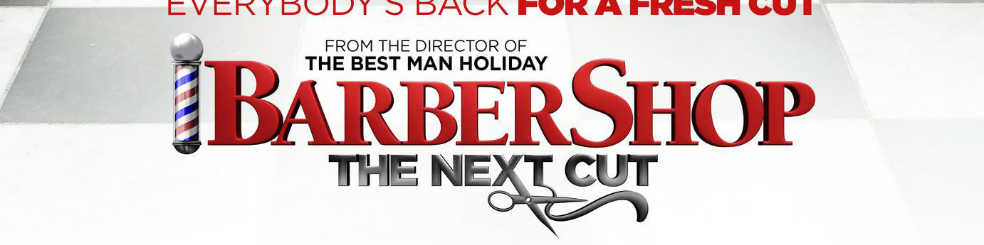 © 2016 New Line Cinema – Click the image to see the poster for _Barber Shop: The Next Cut_ on IMPAwards.