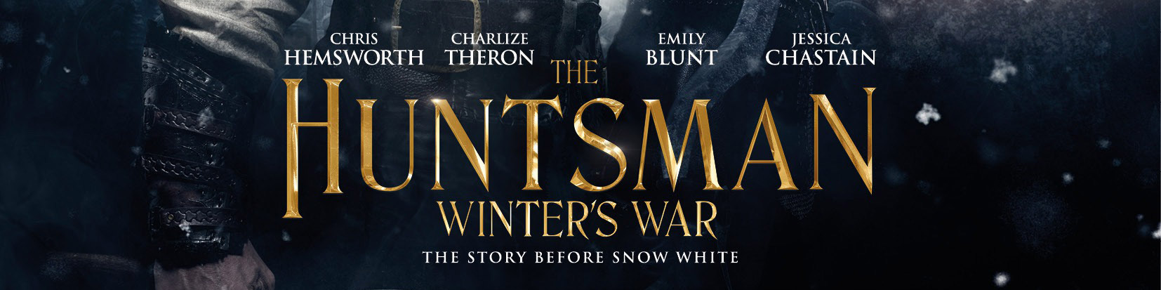 © 2016 Universal Pictures – Click the image to see the poster for _The Huntsman: Winter's War_ on IMPAwards.