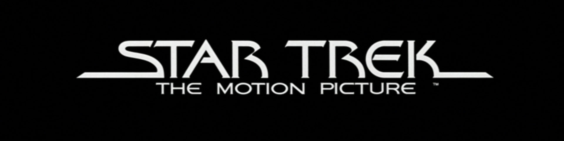 © 1979 Paramount Pictures – The Star Trek movie logo as seen in the title sequences of the original motion picture.