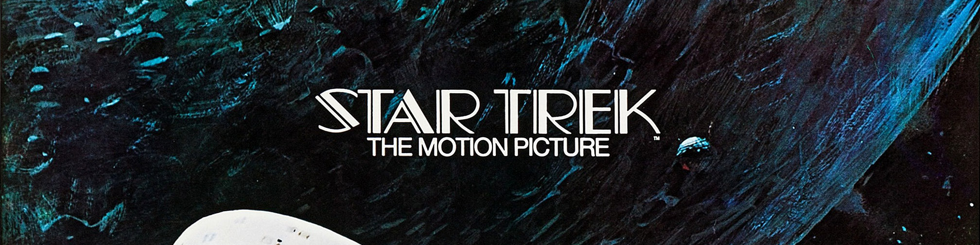 © 1979 Paramount Pictures – The Star Trek movie logo as seen on an alternate poster, designer unknown, for the original motion picture. Click the image to see the complete poster on IMPAwards.
