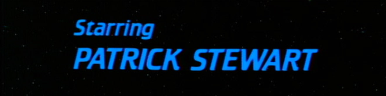 ™ & © 2016 CBS Studios Inc. – Letraset Crillee in the title sequences of the Star Trek: The Next Generation television series.