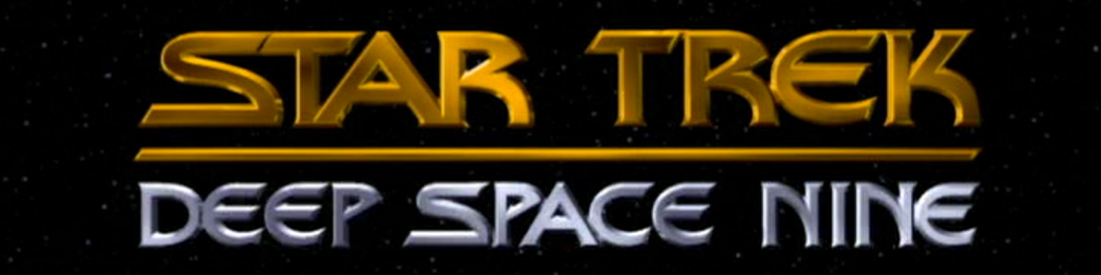 ™ & © 2016 CBS Studios Inc. – The Star Trek: Deep Space Nine logo as seen in the title sequences of the Star Trek: Deep Space Nine television series.