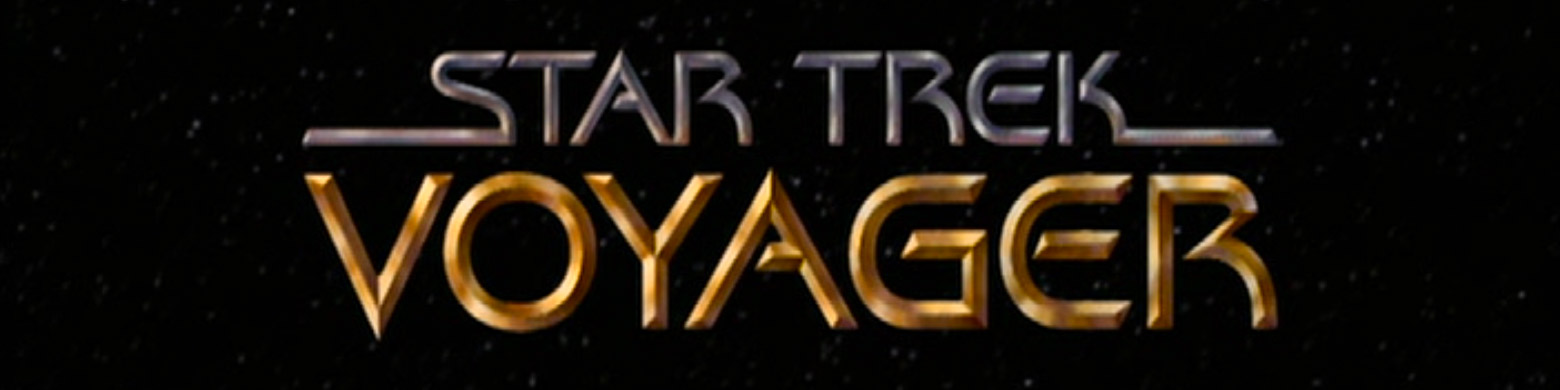 ™ & © 2016 CBS Studios Inc. – The Star Trek: Voyager logo as seen in the title sequences of the Star Trek: Voyager television series.