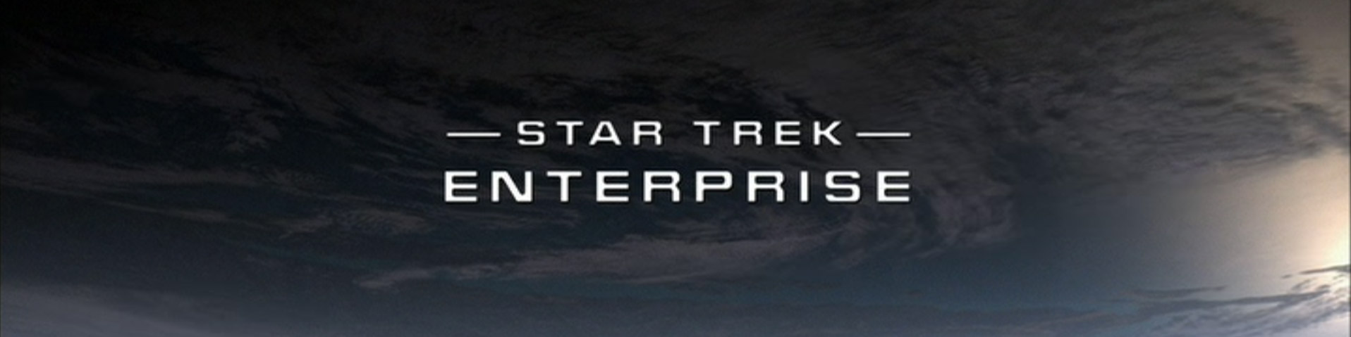 ™ & © 2016 CBS Studios Inc. – The Star Trek: Enterprise logo as seen in the title sequences of the Star Trek: Enterprise television series.