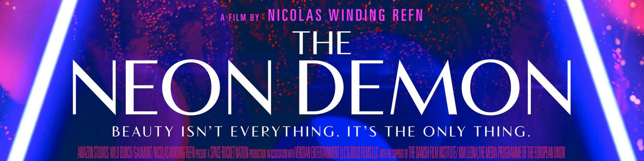 © 2016 Broad Green Pictures – Click the image to see the poster for The Neon Demon on IMPAwards.