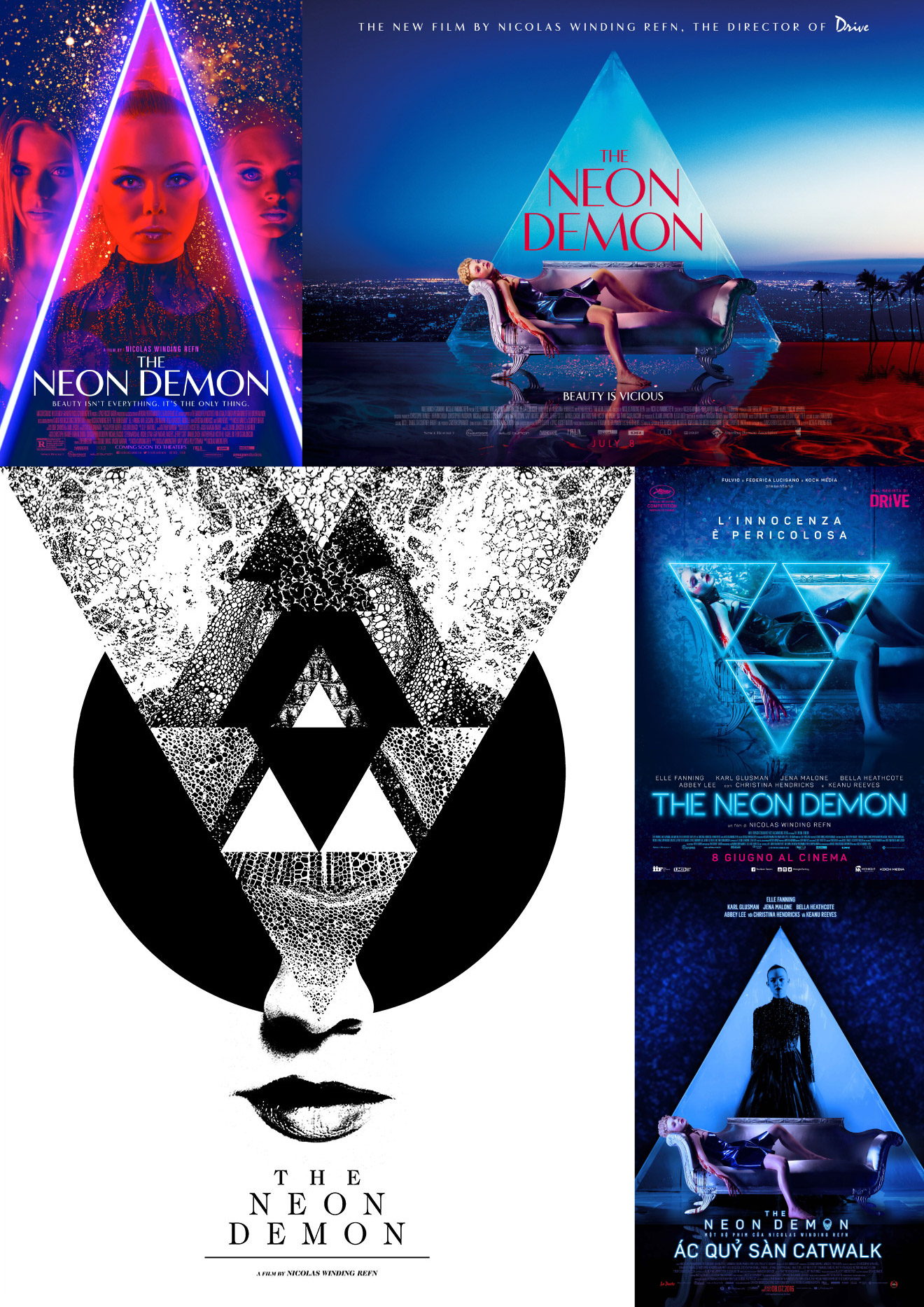 © 2016 Broad Green Pictures – Click the image to see the Mondo poster by Jay Shaw for The Neon Demon on Collider.