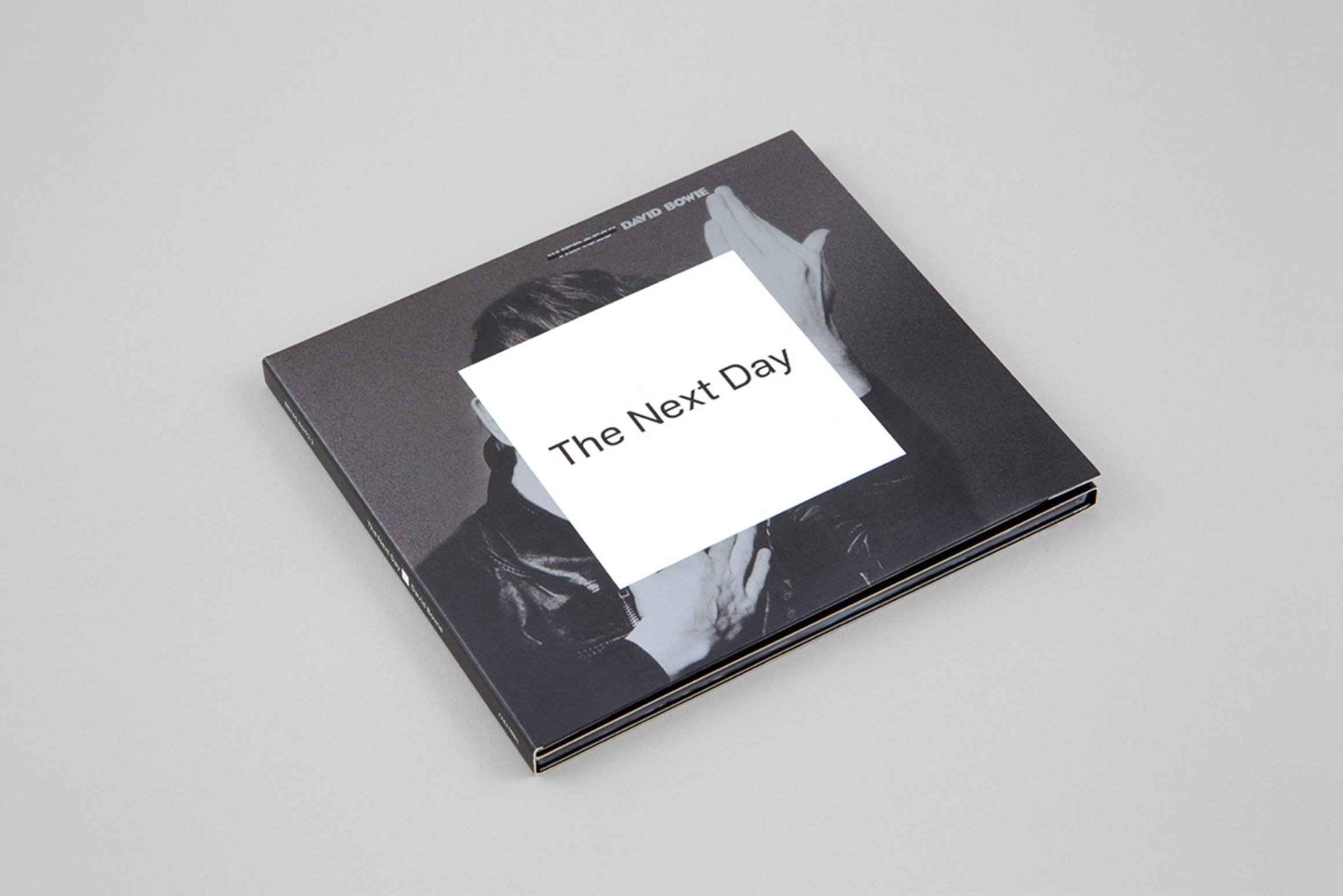 _The Next Day,_ David Bowie's first album after a 10-year recording hiatus, was designed by Barnbrook in complete secrecy, making headlines upon release. (Image source: [barnbrook.net](http://www.barnbrook.net/work/david-bowie-the-next-day-2/))