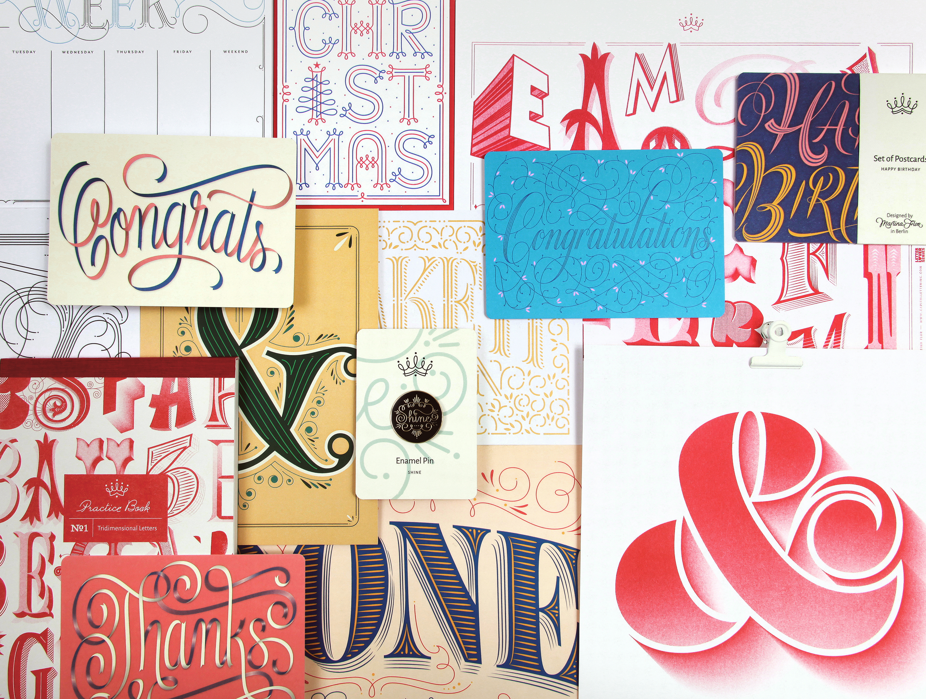 i also keep on working on my long term side project which is my workshop series ive been teaching workshops and online classes in lettering design for