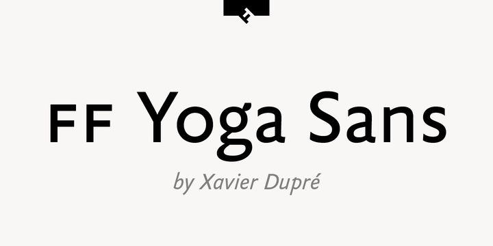 FF Yoga® Sans
