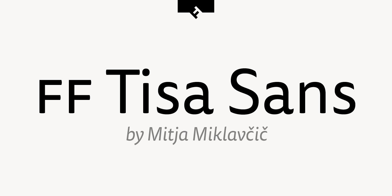 FF Tisa® Sans