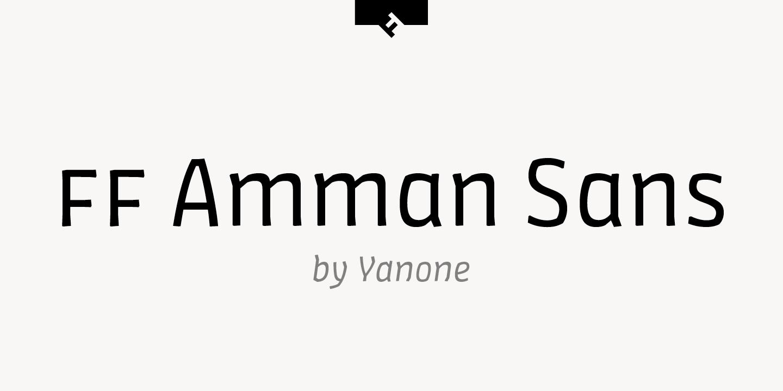 FF Amman™ Sans
