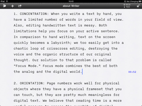 Nitti Light is a custom version of the monospaced Nitti, fine-tuned for use in the hugely successful iA Writer app for the iPad.