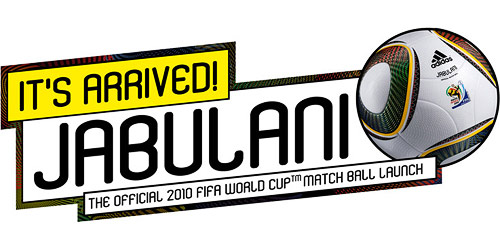 Announcement of the Jabulani, the official 2010 FIFA World Cup match ball.