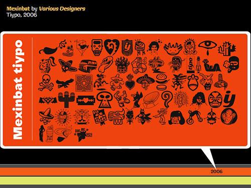 Mexinbat Tiypo by various designers