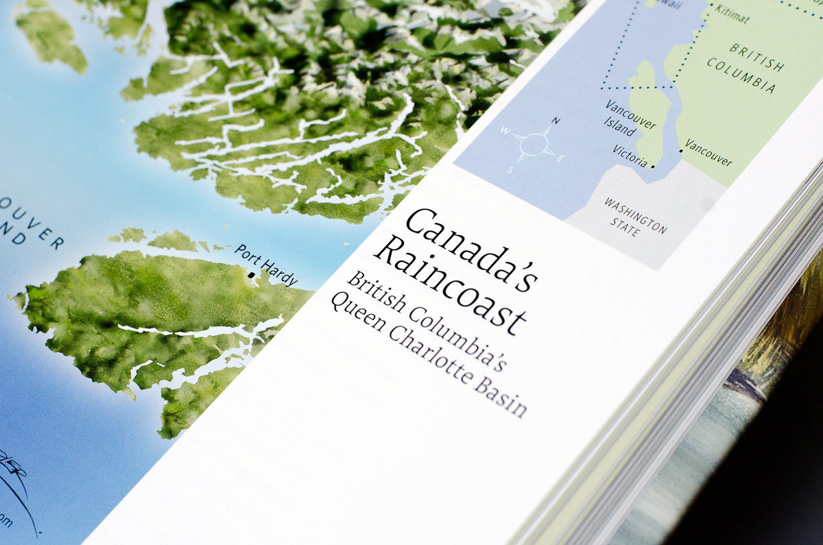 Book 'Canada's Raincoast at Risk: Art for an Oil-Free Coast' (Raincoast Conservation Foundation)