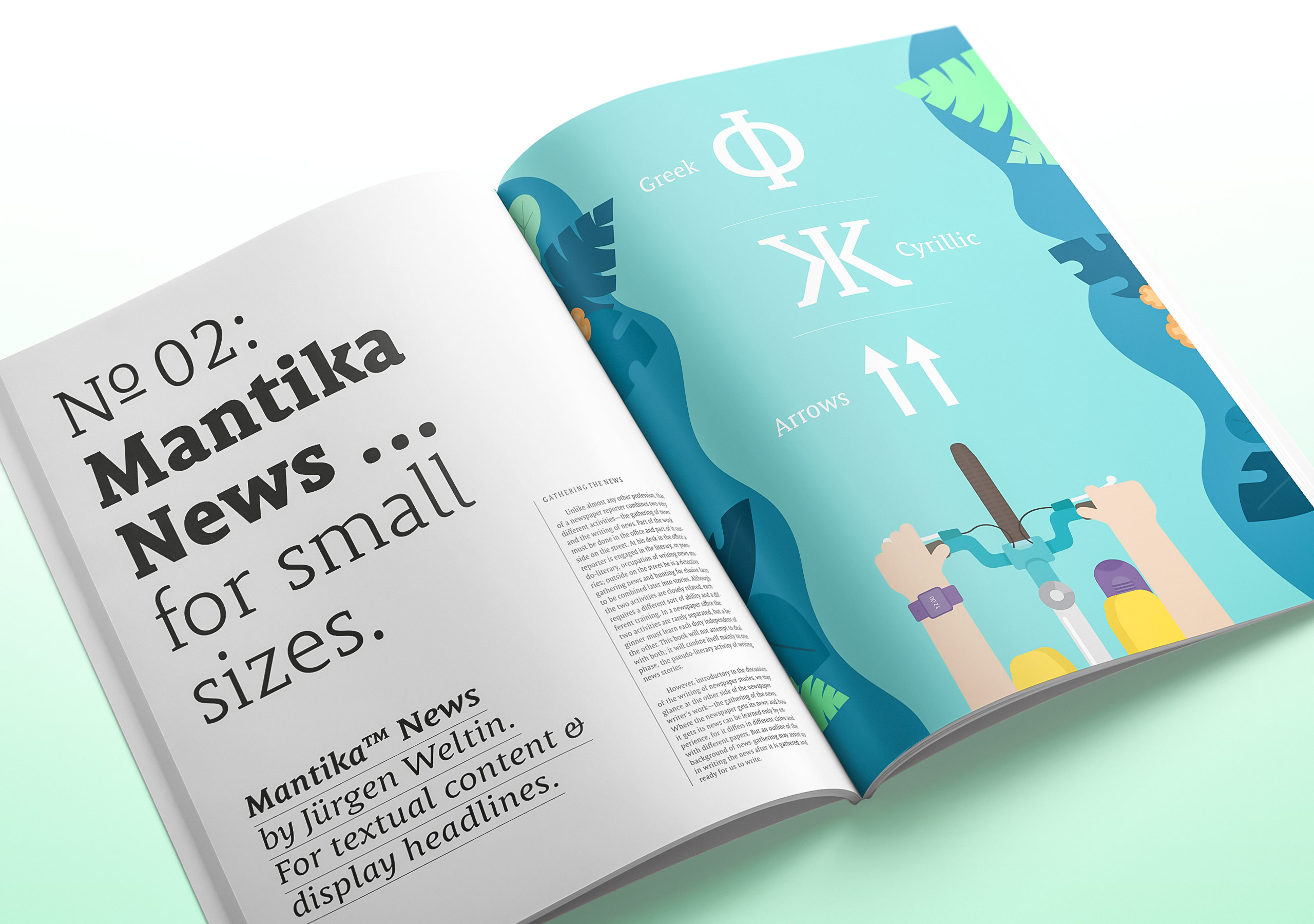 Fictitious use case for Mantika News by Alexandra Schwarzwald
