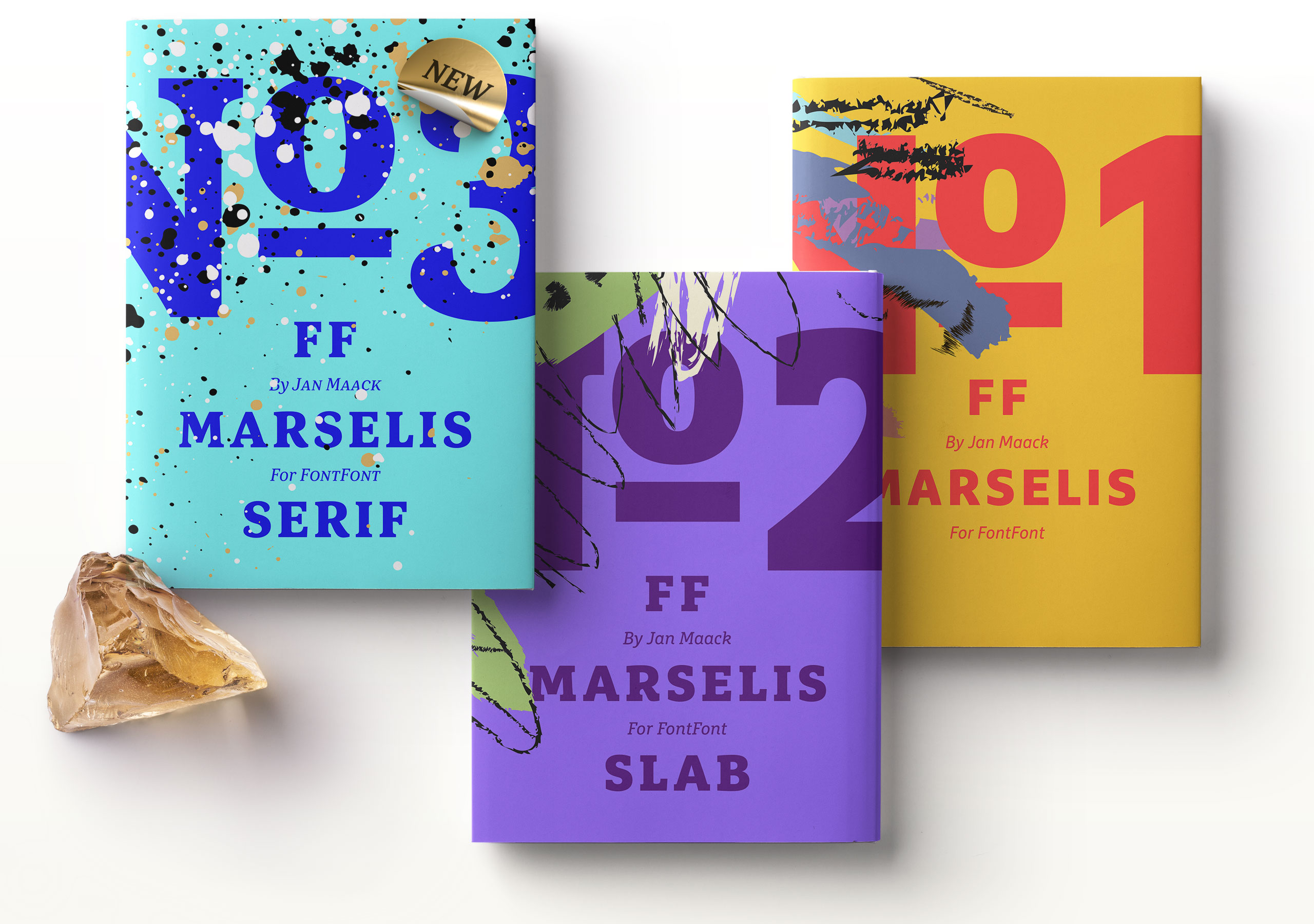 Fictional use case for FF Marselis Serif by Alexandra Schwarzwald