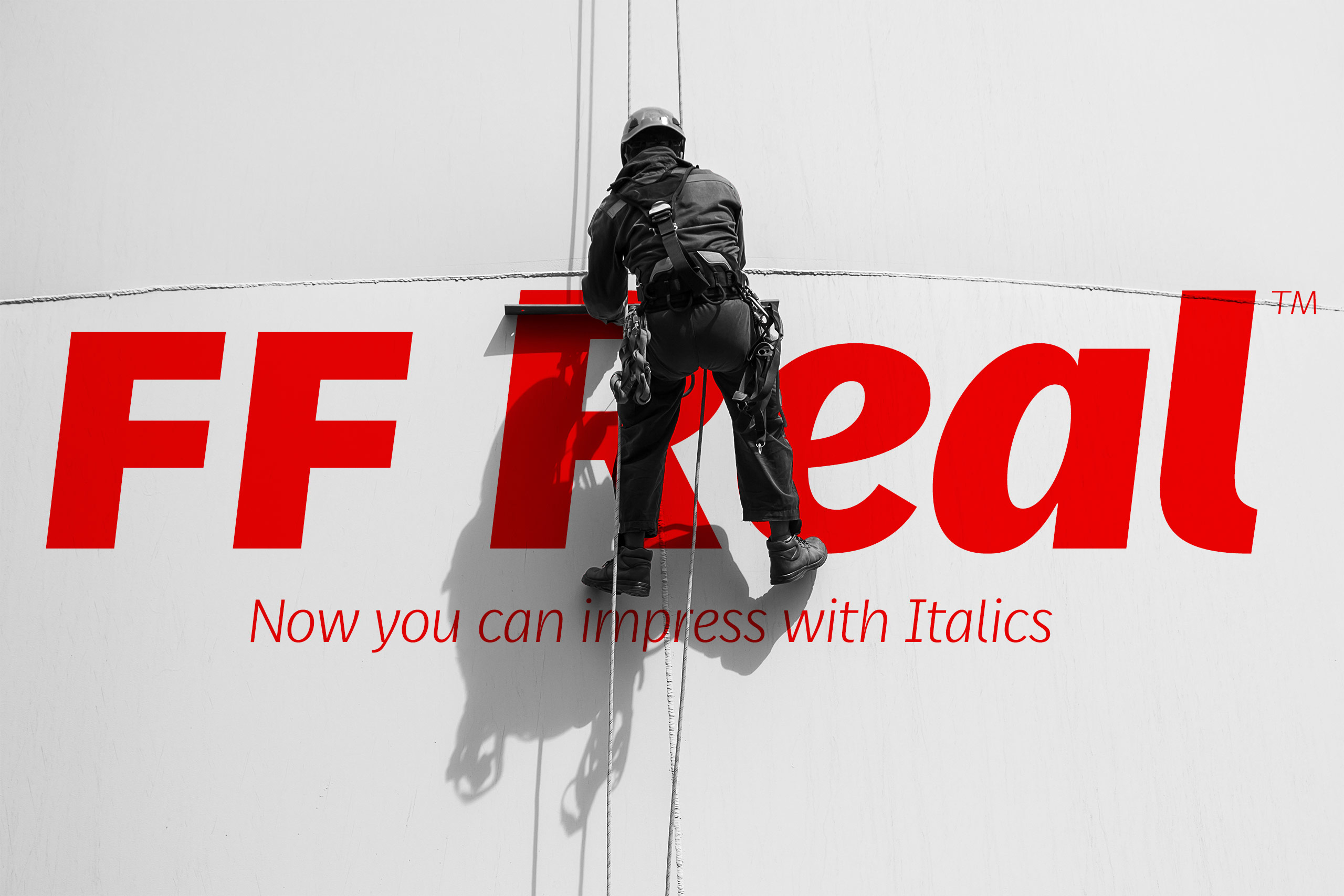 FF Real Italics showing by Alexander Roth