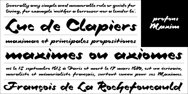 Originally, Splendor was produced and released in 1930 by Schriftguß AG, Dresden. The typeface was designed by Berlin designer Wilhelm Berg.   Ralph M. Unger revived this jewel of a typeface design redesigning and digitally remastering it for profonts.    Splendor is a broad-nip, non-connecting handwriting script of timeless elegance, charme and beauty. It needs tight setting with plenty of space around it.